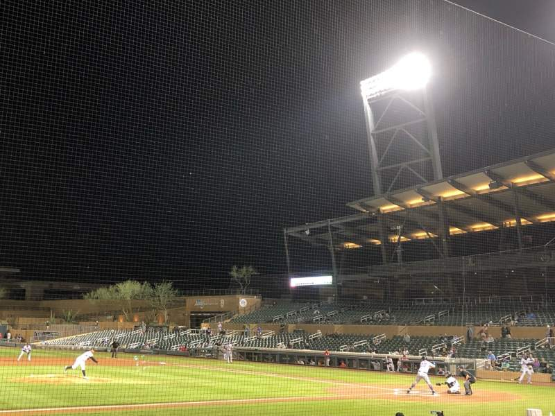 Seating view for Salt River Fields Section 117 Row 12 Seat 11