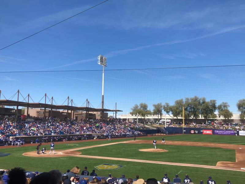 Seating view for American Family Fields of Phoenix Section 109 Row V Seat 6