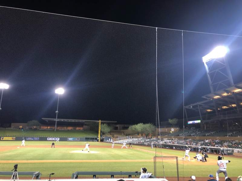 Seating view for Salt River Fields Section 116 Row 12 Seat 6