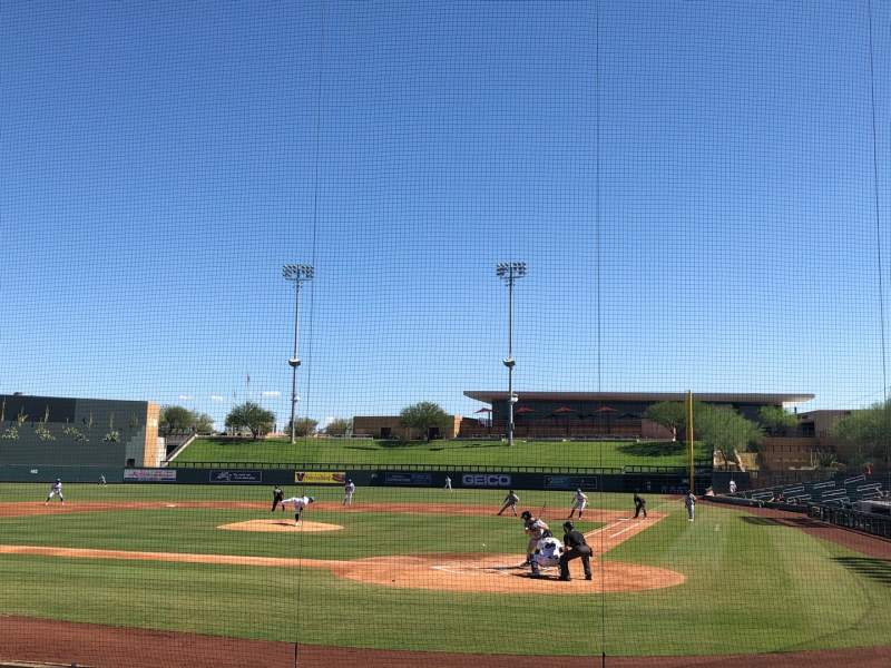 Seating view for Salt River Fields Section 114 Row 11 Seat 1