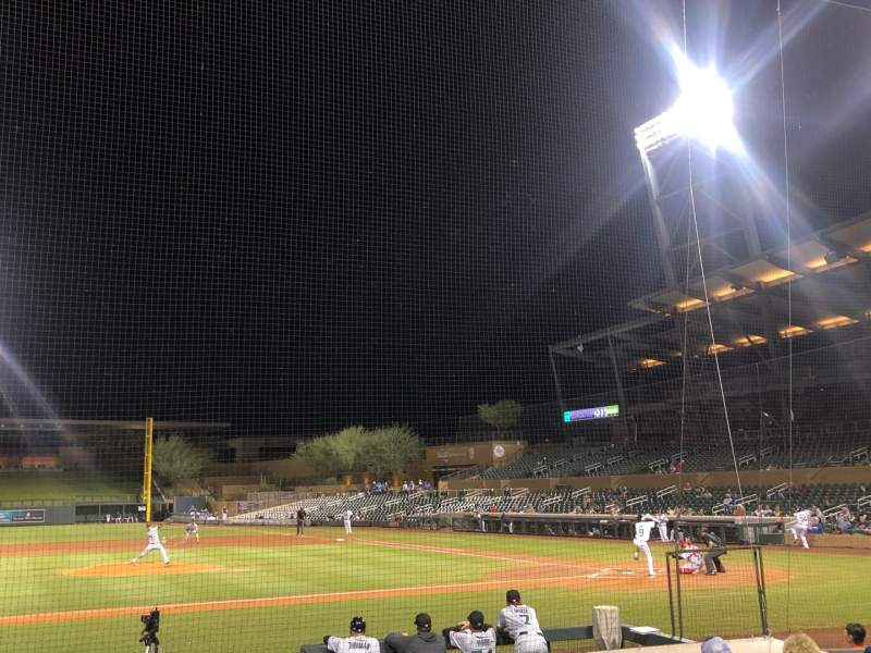 Seating view for Salt River Fields Section 116 Row 11 Seat 12