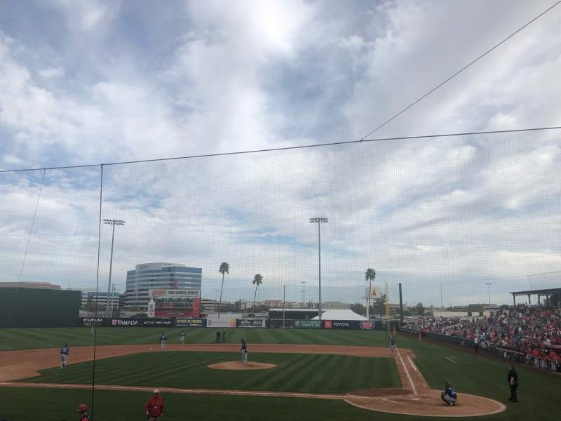 Seating view for Tempe Diablo Stadium Section 8 Row R Seat 8