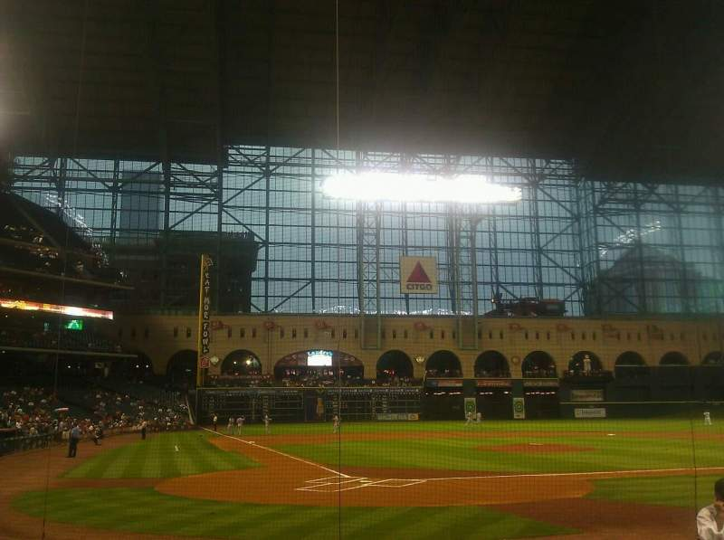 Seating view for Minute Maid Park Section E Row 8 Seat 5