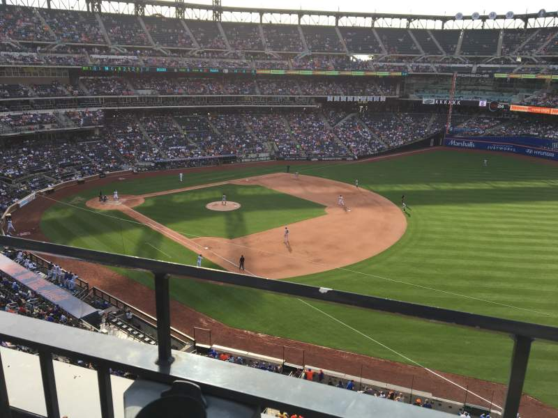 Seating view for Citi Field Section 403 Row 1 Seat 13