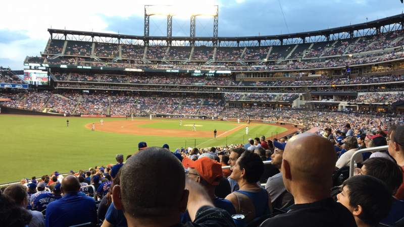 Seating view for Citi Field Section 130 Row 32 Seat 5