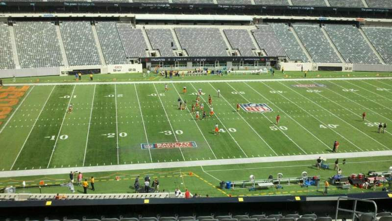 Seating view for MetLife Stadium Section 241 Row 12w Seat 1