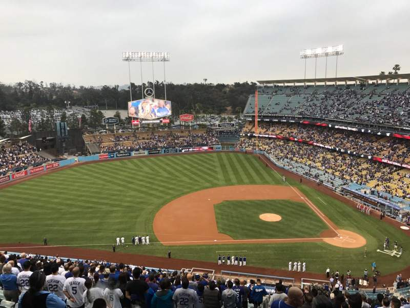 Seating view for Dodger Stadium Section 17RS Row EE Seat 10