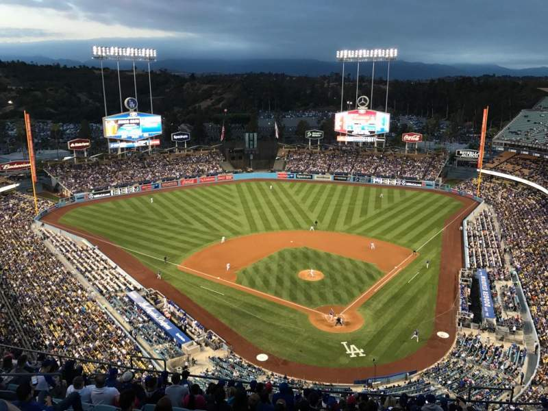 Seating view for Dodger Stadium Section 5TD Row O Seat 13