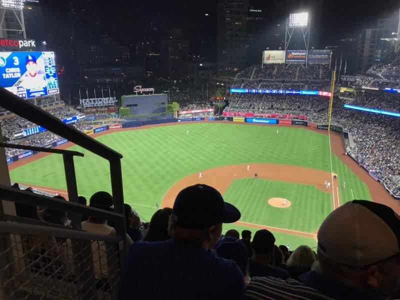 Seating view for PETCO Park Section 310 Row 27 Seat 2