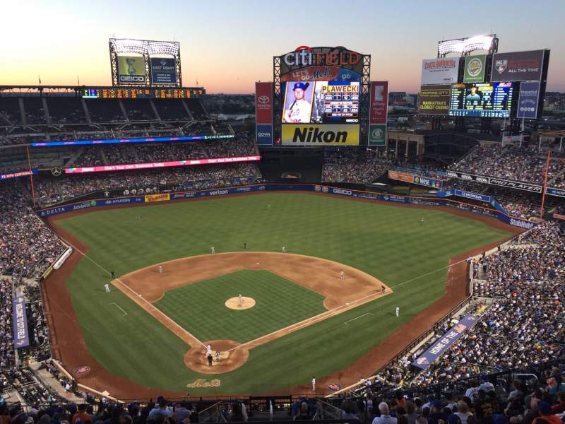 Seating view for Citi Field Section 513 Row 17 Seat 21