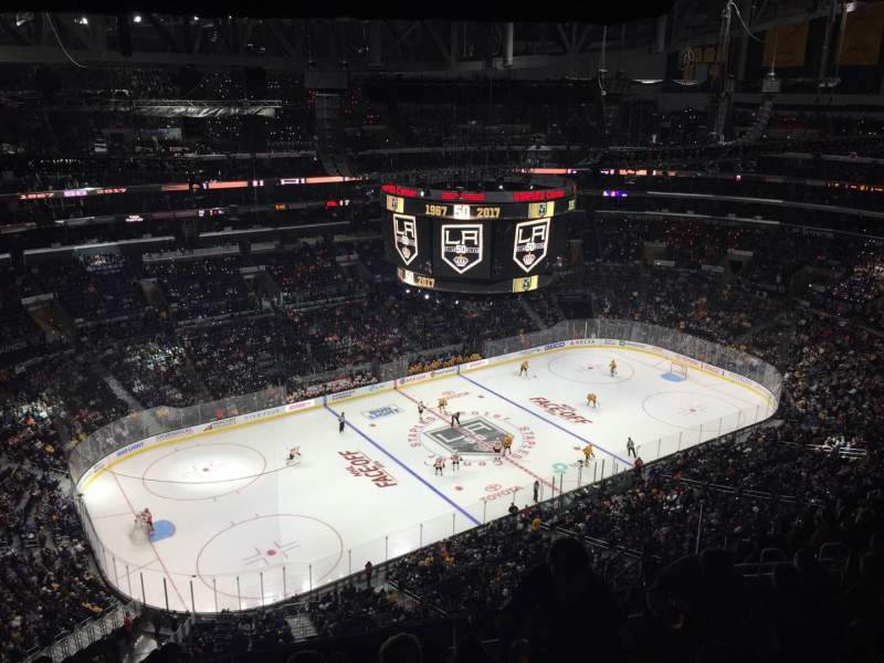 Staples Center, section: 321, row: 12, seat: 13