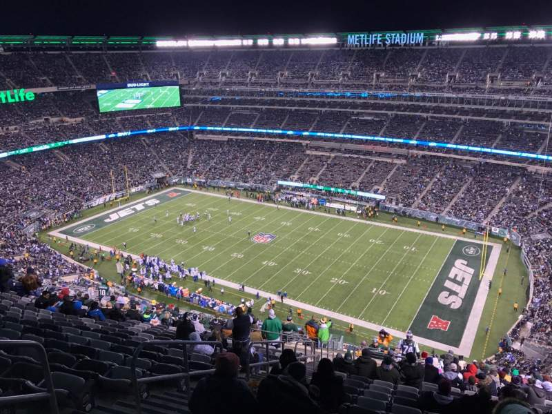 Seating view for MetLife Stadium Section 334 Row 26 Seat 25