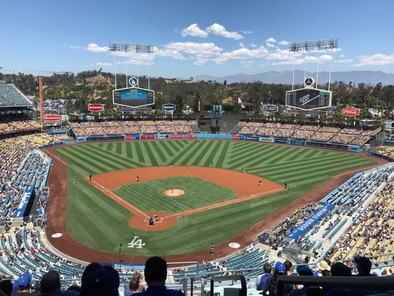 Seating view for Dodger Stadium Section 2RS Row M Seat 22
