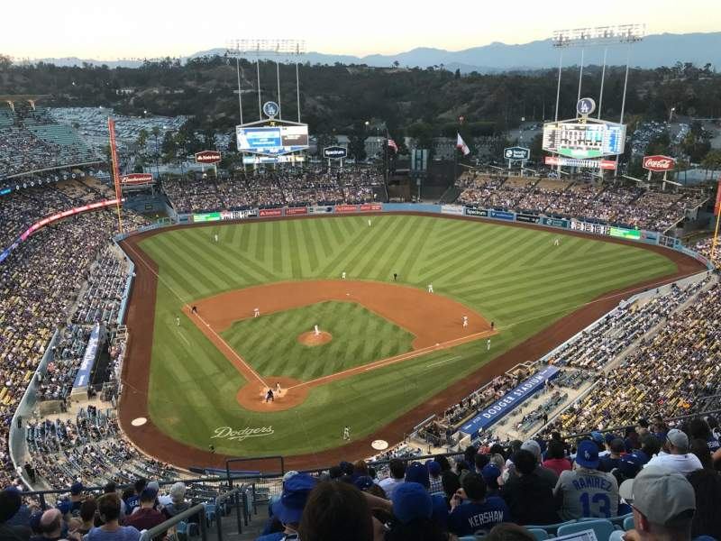 Seating view for Dodger Stadium Section 6TD Row N Seat 1