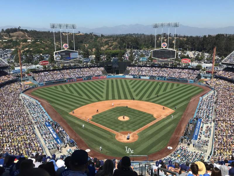 Seating view for Dodger Stadium Section 3TD Row N Seat 1