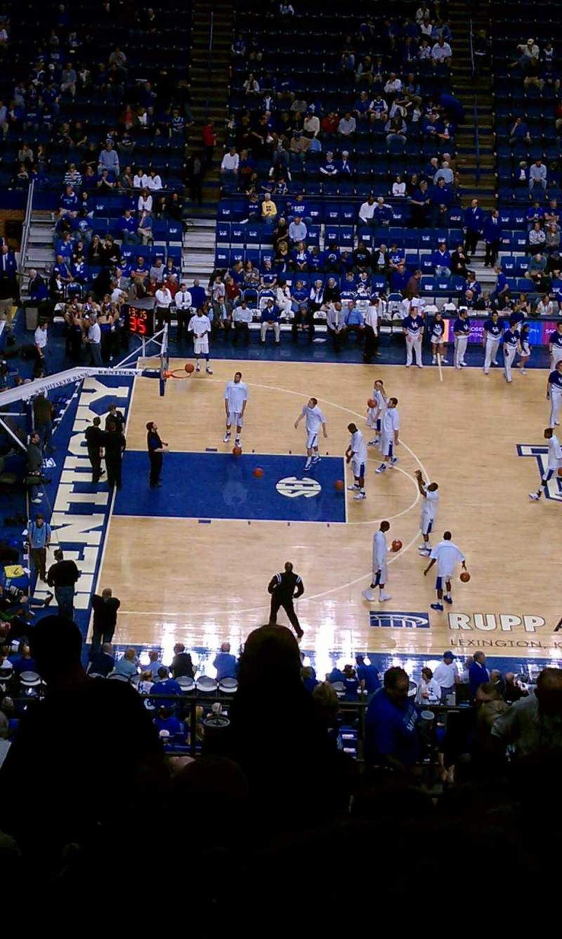 Seating view for Rupp Arena Section 215