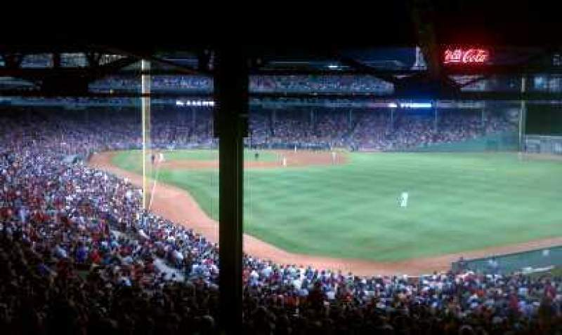 Seating view for Fenway Park Section Grandstand 3 Row 18 Seat 19