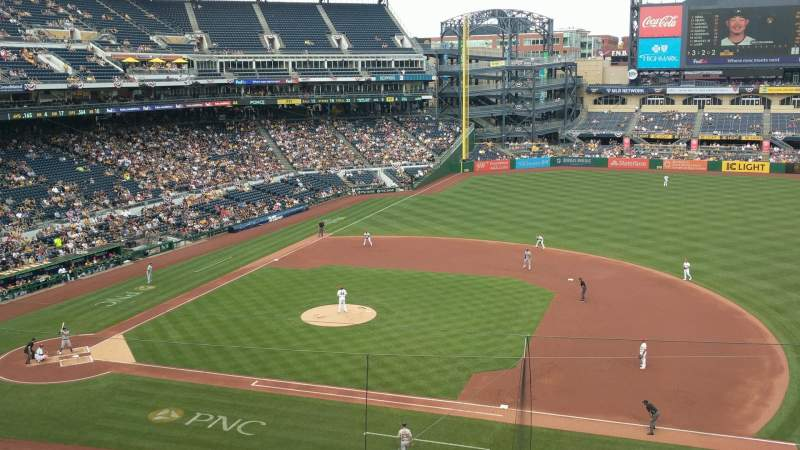 Seating view for PNC Park Section 209 Row A Seat 4