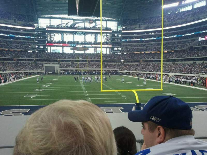 Seating view for AT&T Stadium Section 123 Row 10 Seat 24