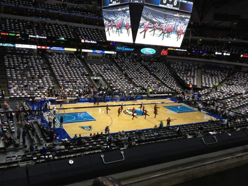 Seating view for American Airlines Center Section 212 Row A Seat 5