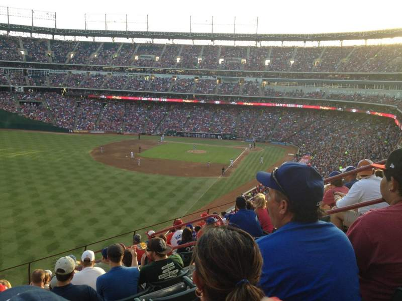 Seating view for Globe Life Park in Arlington Section 209 Row 10 Seat 5