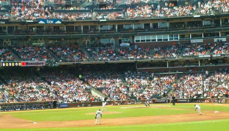 Seating view for AT&T Park Section 139 Row 14 Seat 23