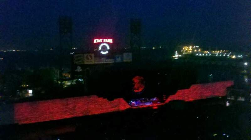 AT&T Park, section: 324, row: 16, seat: 5