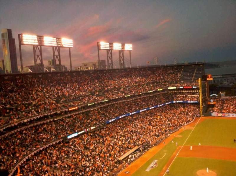 Seating view for AT&T Park Section 308 Row 18 Seat 14