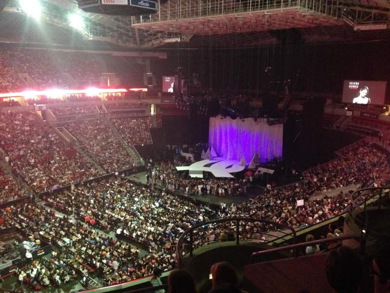 Seating view for KeyArena Section 211 Row 10 Seat 12