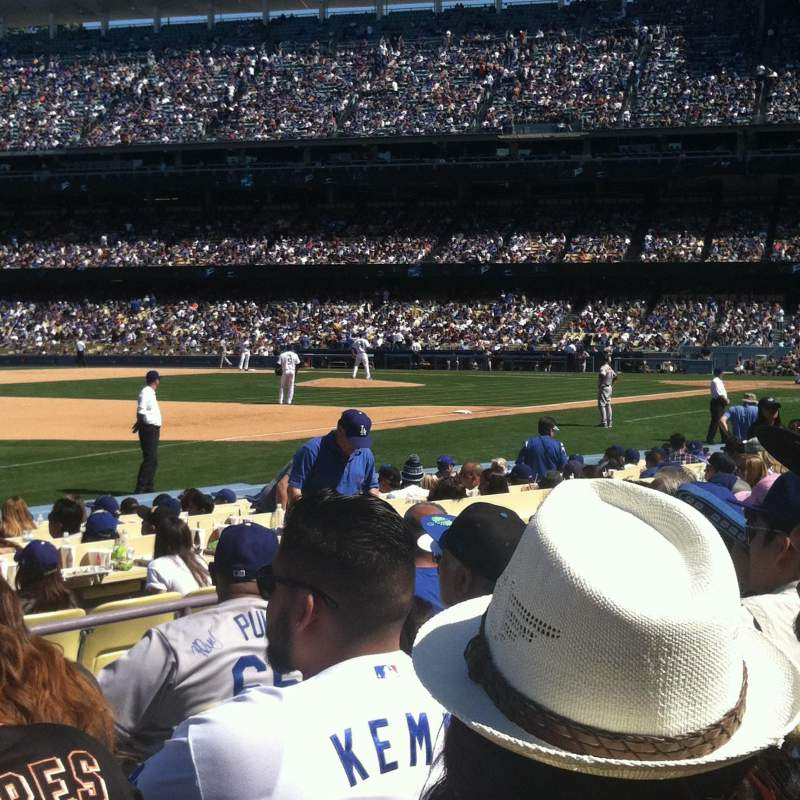 Seating view for Dodger Stadium Section 37fd Row F Seat 3