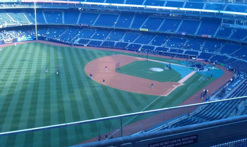 Seating view for Yankee Stadium Section 431b Row 2 Seat 8