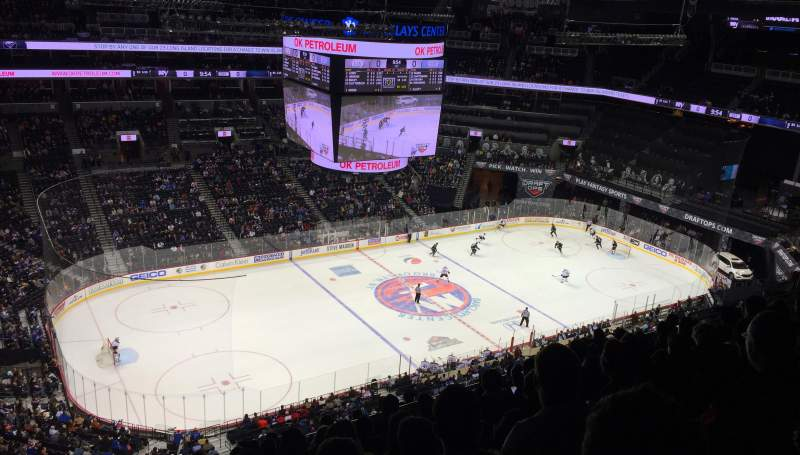 Seating view for Barclays Center Section 210 Row 11 Seat 26
