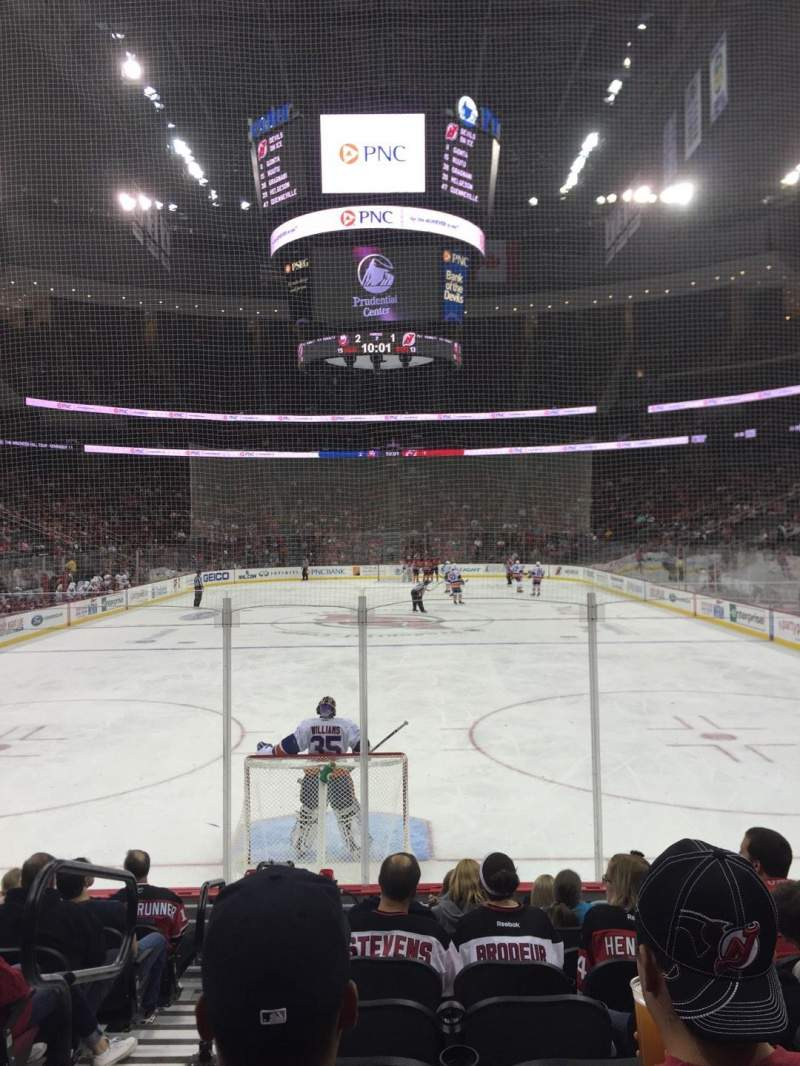 Seating view for Prudential Center Section 14 Row 9 Seat 12