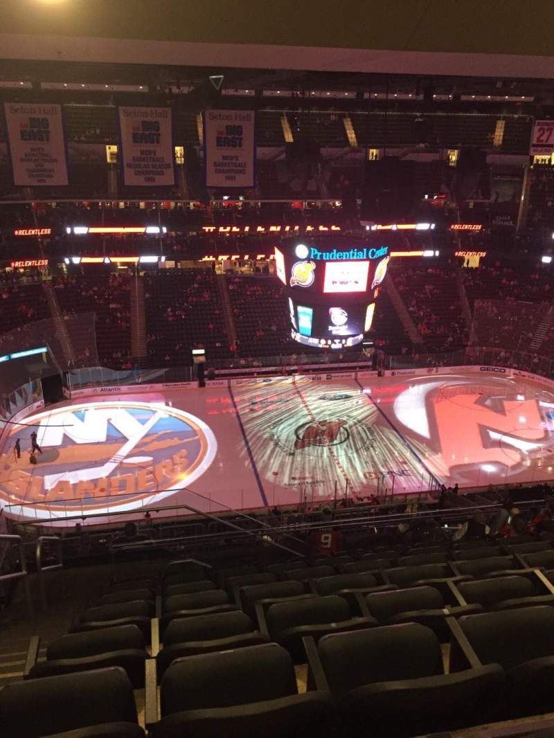 Seating view for Prudential Center Section 228 Row 9 Seat 20