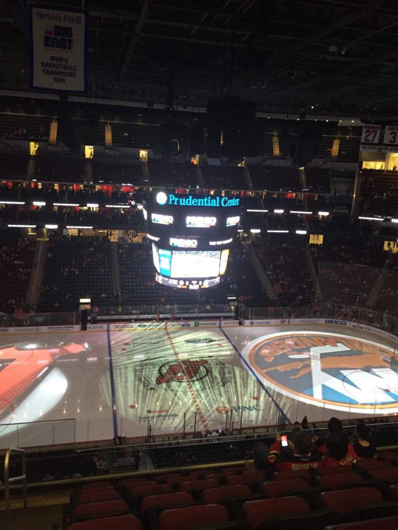 Seating view for Prudential Center Section 126 Row 7 Seat 20