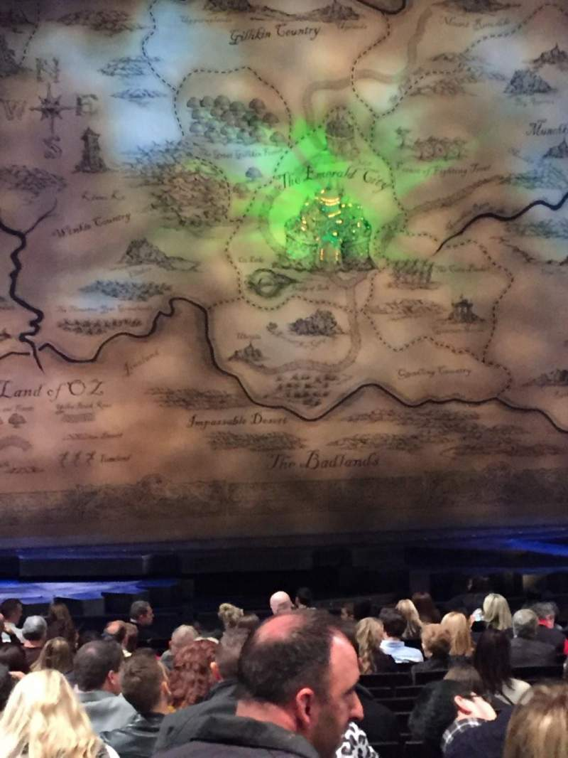 Seating view for Gershwin Theatre Section Orchestra C Row O Seat 105