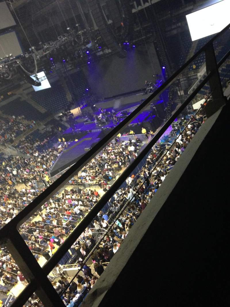 Seating view for Petersen Events Center Section 223 Row A Seat 9