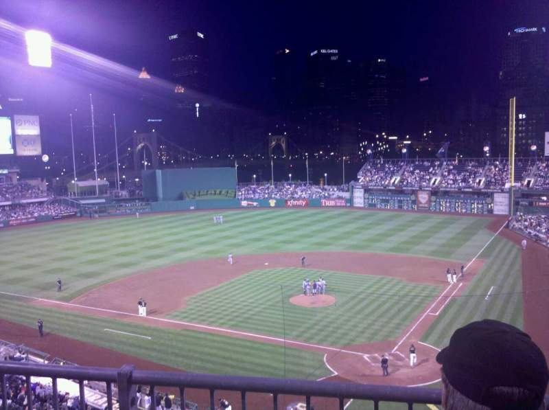 Seating view for PNC Park Section 219 Row B Seat 7