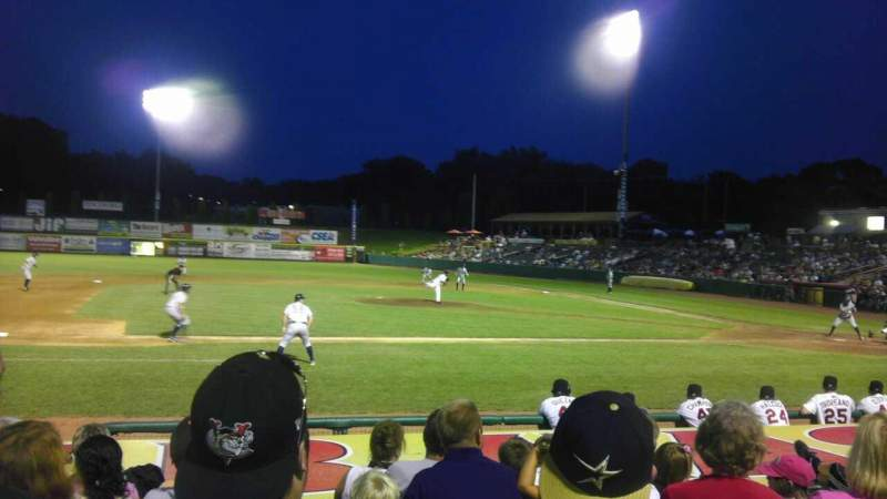 Seating view for Joseph L. Bruno Stadium Section 150 Row K Seat 18