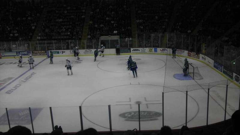 Seating view for Glens Falls Civic Center Section O Row 13 Seat 3