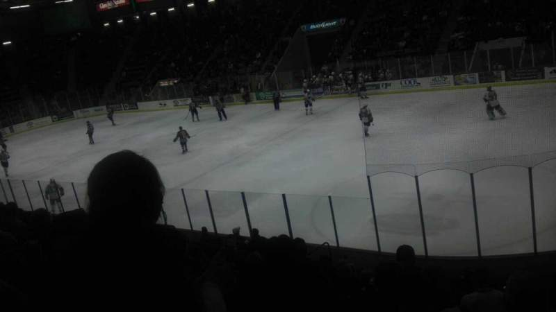 Seating view for Glens Falls Civic Center Section D Row 13 Seat 4
