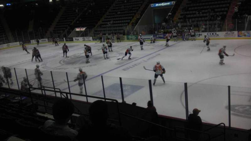 Seating view for Glens Falls Civic Center Section D Row 9 Seat 12