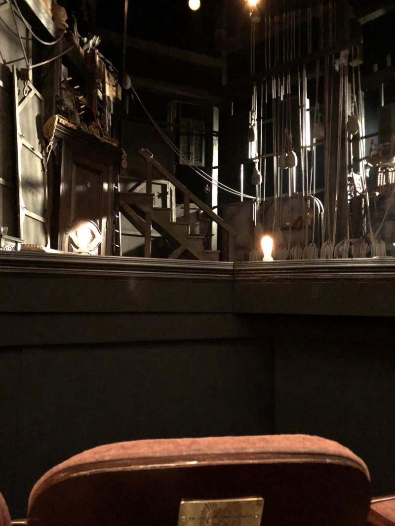 Seating view for American Airlines Theatre Section Orchestra C Row A Seat 113