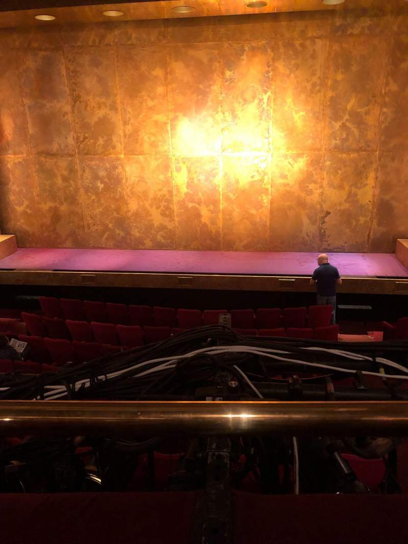 Seating view for Cort Theatre Section Mezzanine C Row A Seat 110