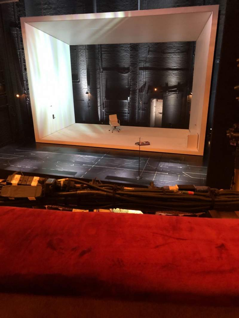 Seating view for John Golden Theatre Section Front Mezzanine R Row A Seat 116