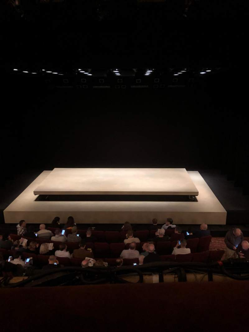 Seating view for Ethel Barrymore Theatre Section Front Mezzanine C Row A Seat 109
