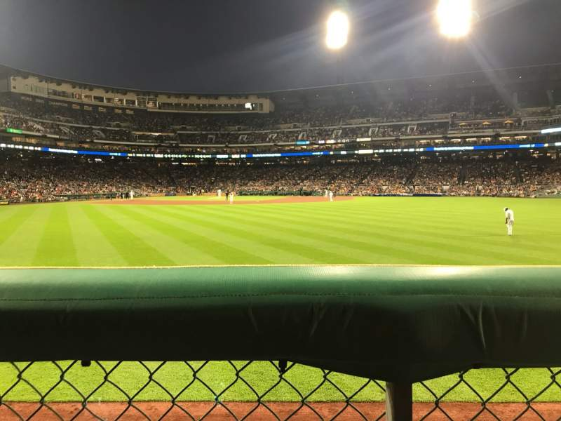 Seating view for PNC Park Section 140 Row A Seat 20