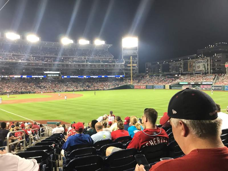 Seating view for Nationals Park Section 137