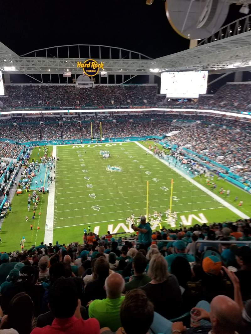 Seating view for Hard Rock Stadium Section 333