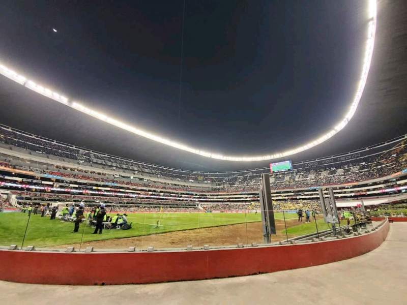 Seating view for Estadio Azteca Section 126 Row A Seat 20